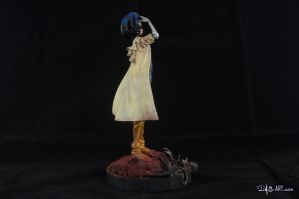 [Garage kit painting #02] Gally statue - 007 by DasArt
