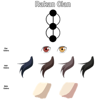 Rakan Clan Color Sheet by anniberri