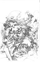 Skaar Cover Pencils by guisadong-gulay