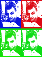 Noel Fisher - Pop Art Me by AgentBabycakes