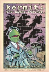 Kermit: The Night Stalker by VinceDorse