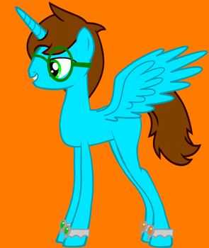 Me As A FiM Pony by jackftwcod5