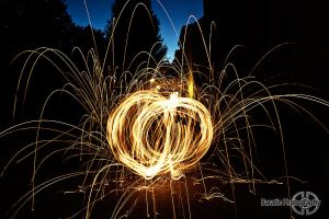 First attempt with steel wool by BaratiePhotography