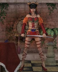Misao For Val3DArt by knight776
