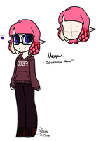 Megan Woomy ref by OctoWeeb