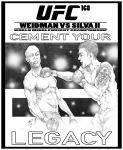 UFC 168 Poster by Raikoh101