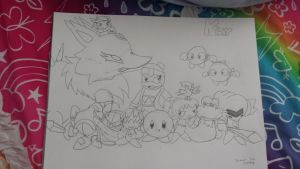 kirby characters that i know (fixed) by cutelittlepikakitty