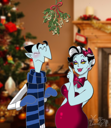 There's a mistletoe above you... by VampiraLady