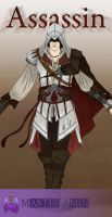 Assassin's creed II , Ezio by MasterAmin