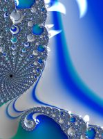 Too Blue Fractal by laughingtube