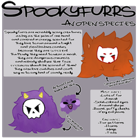 Spookyfurrs - An Open Species by GinDrawsAdopts