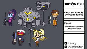 Tiny-Watch - Character Roster update by Khuzang