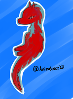 Red DRAGON by AnimaloverXD
