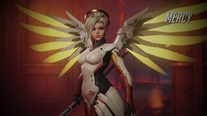 Overwatch Mercy Wallpaper - 1920 x 1080 by Mac117