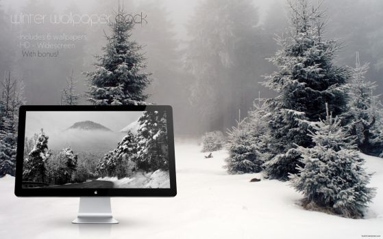 Winter wallpaper pack by Kyo616