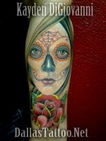 Day of the Dead Girl Santa Muerte by kayden7