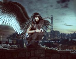 The wall of angels by jiajenn