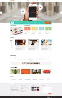 Homepage (Busipress) by NiravJoshi