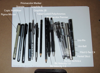 Water Proof Markers, Pens, and Pencils Challenge by Steven-Powers-SMP