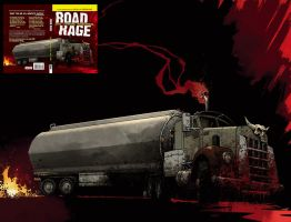 Road Rage book cover color by nelsondaniel