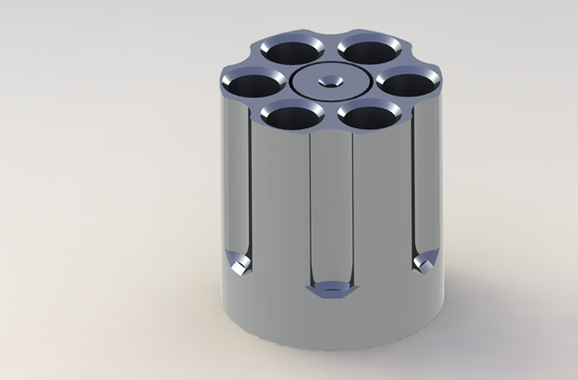 Revolver Cylinder by TacoWrath