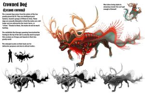 Canine Creature by Tikall