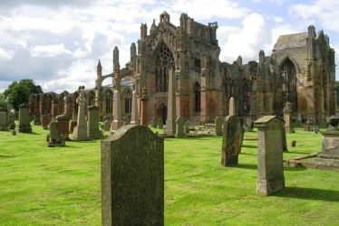 Scotland, Melrose Abbey by elodie50a