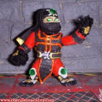 Ermac Figure by the-gil-monster