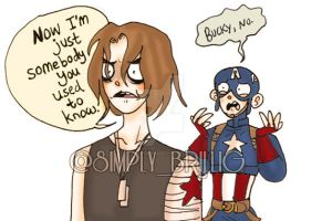 +For Pete's Sake, Bucky+ by SimplyBrillig