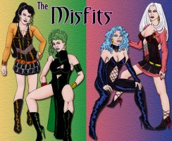 Leather Misfits by Furyian