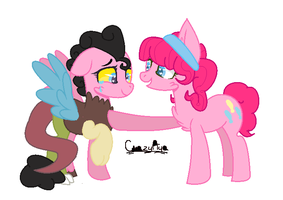 Pinkie and Her Choild by pandatron03