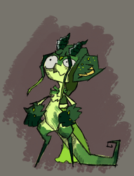 -Draw the Griffian bellow- Plant beauty by osterfire