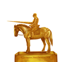 WTS 3rd Annual Summer Joust Champion's Trophy by lionsilverwolf