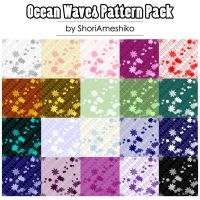 Ocean Waves Pattern Pack by SewDesuNe