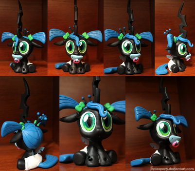 Commission Chrysalis as a toddler by AplexPony