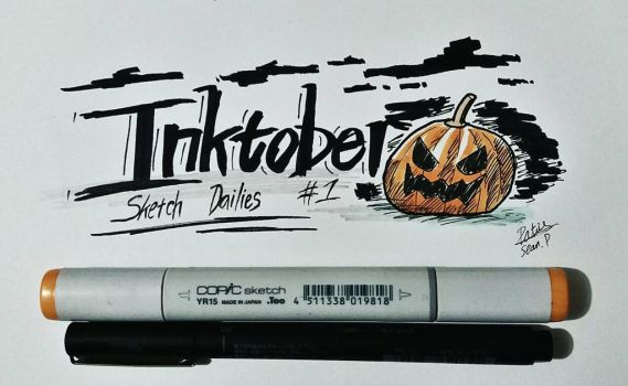 Inktober Day 1 by Ppoint555