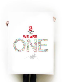 Olympic 2008 - we are ONE by inCubetion