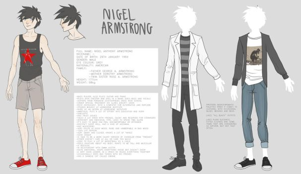 Nigel reference sheet 2016 by AriaDog