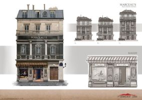 Marceau's Real Estate Agency by Androno25