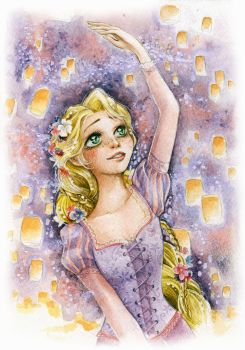 And at last I see the light - Tangled by lilie-morhiril