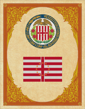 Seal and Flag of West Virginia by ThaDrummer