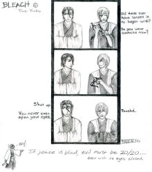 Bleach omake - Evil is 20-20 by ravenclaw42
