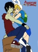 Bad Little Boy - Fionna and Marshall Lee by uniquesora