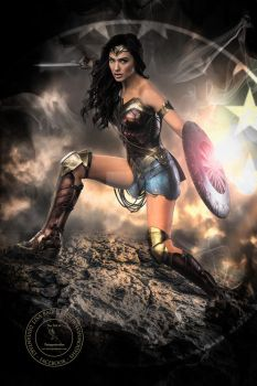 Wonder Woman by FairieGoodMother