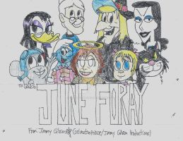 June Foray Tribute by CelmationPrince