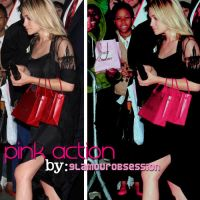 glamourous pink action by GlamourObsession