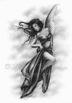 Above it all Angel by Zindy