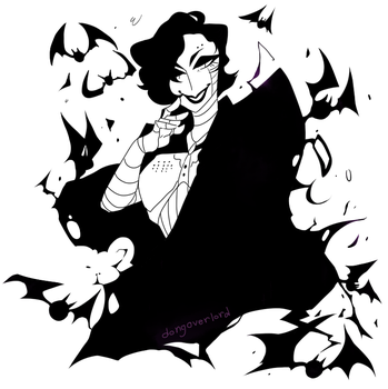 Vampire!Mettaton [ Inked Version ] by dongoverlord