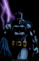 caped crusader by comic-eeb