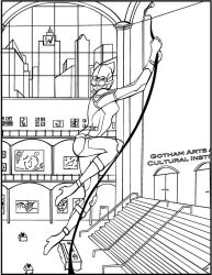 MajorWhoaButWhy 1 0 Catwoman Coloring Book Page By